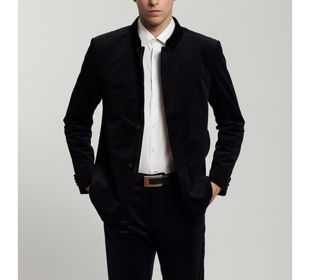 men's Slim fit business dress jacket