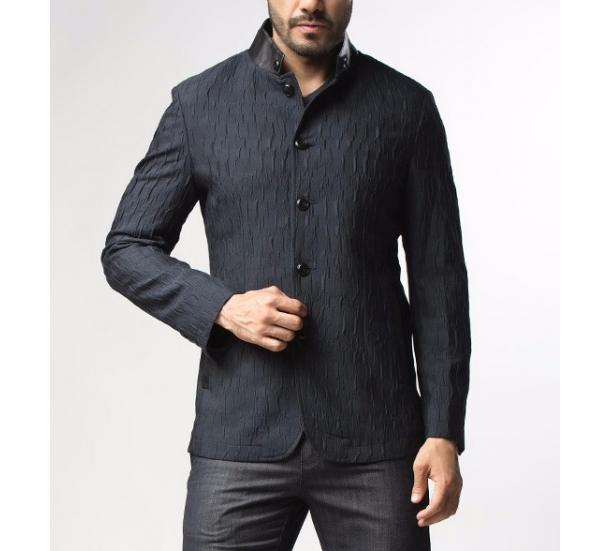 Men's Business jacquard dress jacket