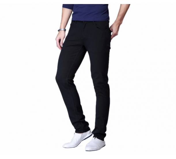 Men's plain pants ,   trim fit and casual style