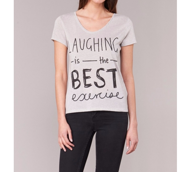 Women's T shirt , with printing casual style