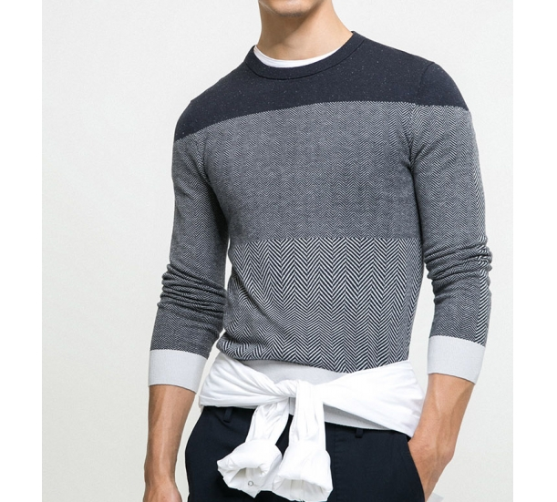 Men's sweaters , round neck casual autumn style