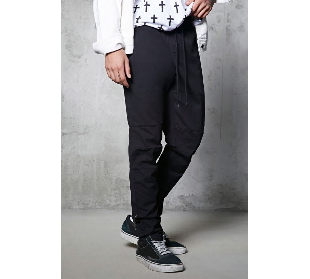 Men's jogging , casual waist with zipper pants