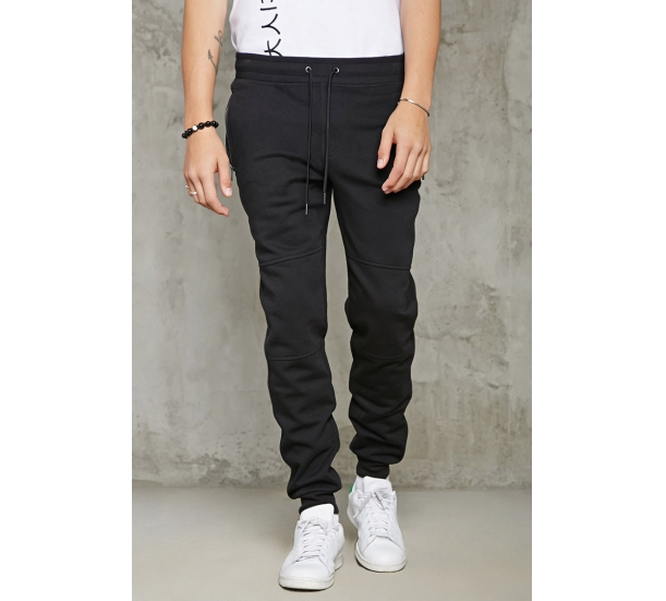 Men's jogging , casual cantrast color waist with elatic pants