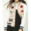women's jackets , polar fleece with patch design coat