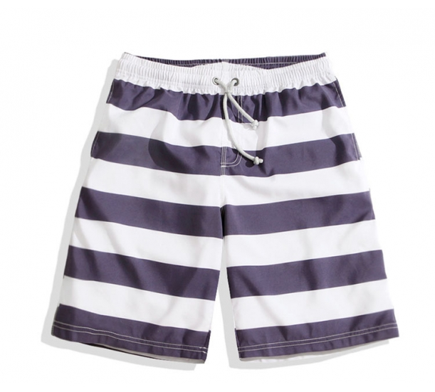 Men's swimwear  , casual with stripes prnting  comfort beach shorts