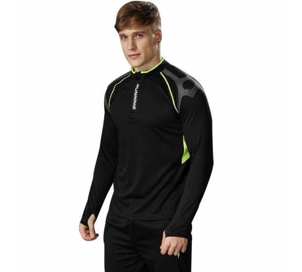Scocer Trainning And Running 1/4 Zip up shirts